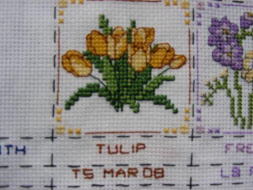 Tulpensticheleien